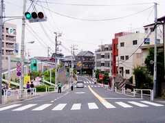 東武練馬駅からシェアハウスへ向かう道の様子。(2006-06-15,共用部,ENVIRONMENT,1F)