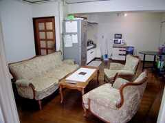 ラウンジの様子。(2006-08-26,共用部,LIVINGROOM,3F)