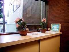 正面玄関内部の様子2。(2006-06-11,周辺環境,ENTRANCE,1F)