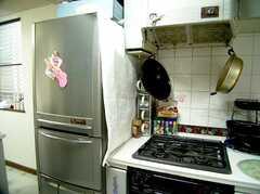 キッチンの様子2。(2006-06-11,共用部,KITCHEN,1F)