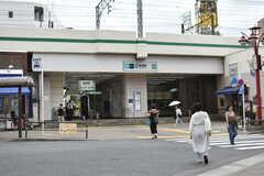 各線・綾瀬駅の様子。(2018-07-28,共用部,ENVIRONMENT,1F)