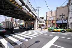 京成本線堀切菖蒲園駅の様子。(2010-04-30,共用部,ENVIRONMENT,1F)