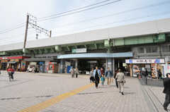 JR常磐線・亀有駅の様子。(2012-10-26,共用部,ENVIRONMENT,1F)