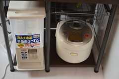 キッチン家電の様子2。(2014-03-07,共用部,LIVINGROOM,2F)