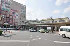 JR総武線・新小岩駅の様子。(2009-10-15,共用部,ENVIRONMENT,1F)