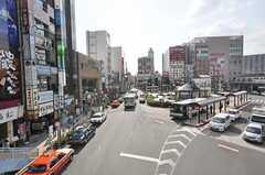 JR総武線・新小岩駅前の様子。(2009-10-15,共用部,ENVIRONMENT,1F)