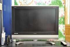 共用TVの様子。(2012-06-18,共用部,TV,2F)