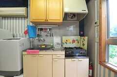 キッチンの様子。(2012-06-18,共用部,KITCHEN,2F)
