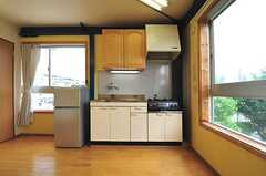 301号室のみキッチン付きです。(301号室)(2012-06-18,専有部,ROOM,3F)