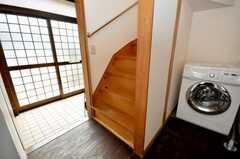 階段の様子。(2009-03-31,共用部,OTHER,1F)
