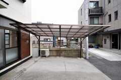 駐車場の様子。(2009-03-31,共用部,GARAGE,1F)