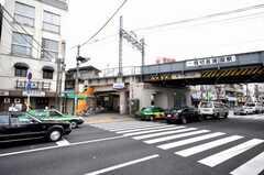 京成線堀切菖蒲園駅の様子。(2009-03-31,共用部,ENVIRONMENT,1F)