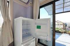 冷蔵庫の様子。(201号室)(2012-11-16,専有部,ROOM,2F)