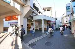 京成線・堀切菖蒲園駅の様子。(2012-11-16,共用部,ENVIRONMENT,1F)