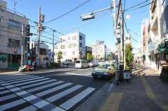 京成線・堀切菖蒲園駅前の様子。(2012-11-16,共用部,ENVIRONMENT,1F)