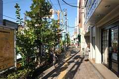 京成線・堀切菖蒲園駅前の様子2。(2012-11-16,共用部,ENVIRONMENT,1F)