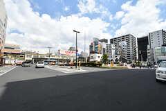 新小岩駅前のロータリー。(2017-05-18,共用部,ENVIRONMENT,1F)