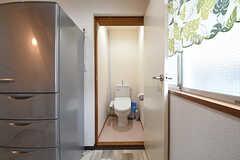 ウォシュレット付きトイレの様子。(2016-06-07,共用部,TOILET,2F)