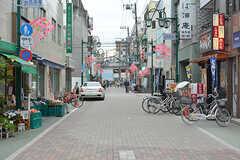 京成本線・お花茶屋駅周辺の商店街の様子。(2016-06-07,共用部,ENVIRONMENT,1F)