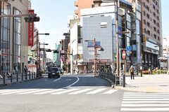 JR常磐線・亀有駅周辺の様子。(2017-10-18,共用部,ENVIRONMENT,1F)