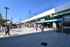 JR常磐線・亀有駅の様子。(2017-10-18,共用部,ENVIRONMENT,1F)