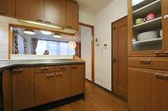 キッチンの様子2。(2013-12-25,共用部,KITCHEN,1F)