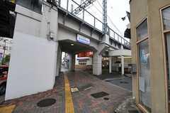 京成本線・堀切菖蒲園駅の様子。(2014-05-21,共用部,ENVIRONMENT,1F)