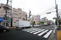 京成本線・堀切菖蒲園駅前の様子。(2014-05-21,共用部,ENVIRONMENT,1F)