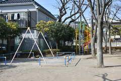 シェアハウス周辺の様子2。近くに公園があります。(2018-02-16,共用部,ENVIRONMENT,1F)