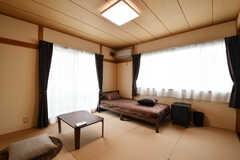 専有部の様子。和室です。(202号室)(2019-05-13,専有部,ROOM,2F)