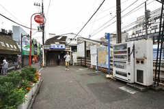 京成本線・立石駅の様子。(2016-06-30,共用部,ENVIRONMENT,1F)
