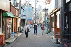 京成本線・お花茶屋駅周辺の様子。(2016-10-18,共用部,ENVIRONMENT,1F)