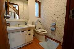 トイレの様子。(2013-06-06,共用部,TOILET,1F)