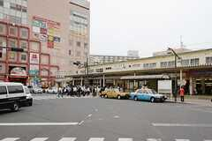 JR総武線・新小岩駅の様子。(2013-06-06,共用部,ENVIRONMENT,1F)
