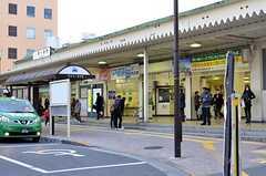JR中央総武線・新小岩駅の様子。(2016-01-07,共用部,ENVIRONMENT,1F)