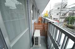 ベランダの様子。(206号室)(2012-11-26,専有部,ROOM,2F)