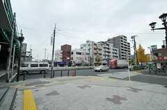 東京メトロ千代田線・北綾瀬駅前の様子。(2012-11-26,共用部,ENVIRONMENT,1F)
