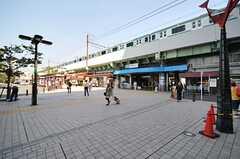 JR常磐線・亀有駅の様子。(2013-07-09,共用部,ENVIRONMENT,1F)
