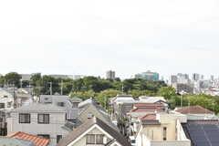 屋上からの景色。(2017-08-23,共用部,OTHER,5F)