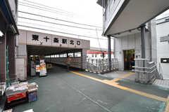 JR京浜東北線・東十条駅の様子。(2017-08-23,共用部,ENVIRONMENT,1F)
