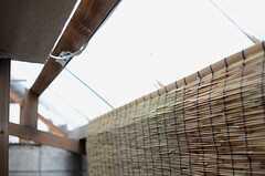 屋根付きなので、雨の日も物干しができます。(2014-01-15,共用部,OTHER,1F)