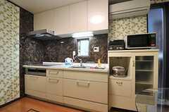 キッチンの様子。(2014-05-14,共用部,KITCHEN,1F)
