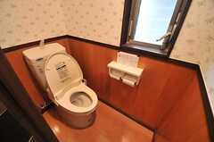ウォシュレット付きトイレの様子。(2014-05-14,共用部,TOILET,1F)