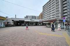JR埼京線・板橋駅の様子。(2014-05-14,共用部,ENVIRONMENT,1F)