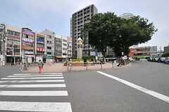 JR埼京線・板橋駅前ロータリーの様子。(2014-05-14,共用部,ENVIRONMENT,1F)