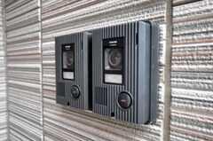 カメラ付きインターホンの様子。(2010-06-09,共用部,OTHER,1F)