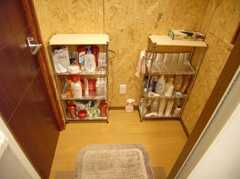 シャワールームから見た脱衣所の様子。(2007-12-12,共用部,BATH,1F)