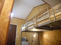 専有部の様子3。実は高い天井(204号室)(2007-12-12,専有部,ROOM,2F)