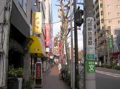 JR埼京線板橋駅からシェアハウスへ向かう道の様子。(2007-12-12,共用部,ENVIRONMENT,1F)