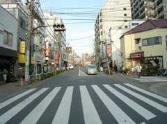 JR埼京線板橋駅前の横断歩道。これを渡ると、、、(2007-12-12,共用部,ENVIRONMENT,1F)
